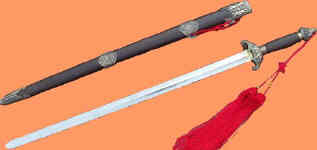 épée de Tai Ji en métal