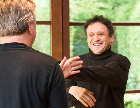 Thierry Baë avec Bob Boyd