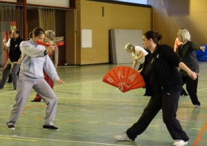 entraînement au Tai Ji Shan