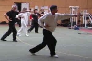 épée avec Me Yuan en 2008
