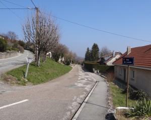 Rue de Lucelle à Montfaucon