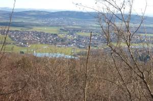 lacs de Saône vus de Montfaucon
