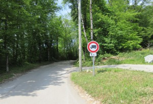 Boussieres GR et route