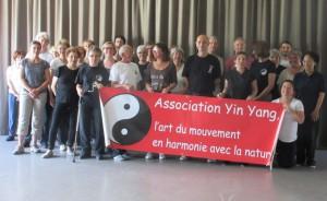 participants au stage de Qi Gong avec Yannick Costanza