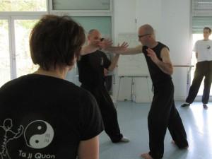 Tai Ji martial avec Yannick Costanza