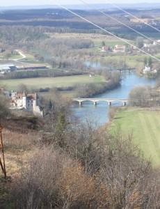 Château de Thoraise et ponts