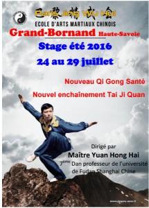 stage de Me Yuan au Grand Bornand