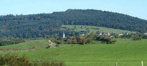 Le village de Loray et sa forêt