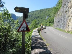 Route D67 gorges de nouailles