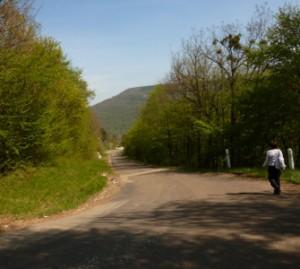 route vers Deluz