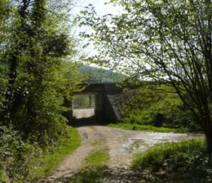 pont SNCF entre Deluz et Vaire