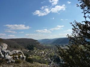 Ornans Gougnot depuis la roche Bottine