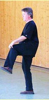 Bob Boyd agite la jambe