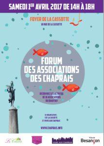Forum des associations des Chaprais