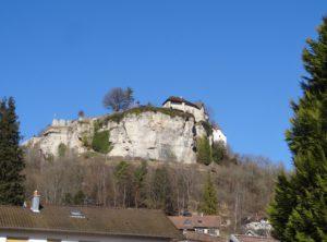 Ornans le château