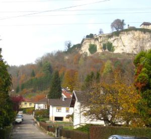 Ornans le Château en 2009