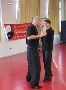 Yannick et Camille en stage self défense