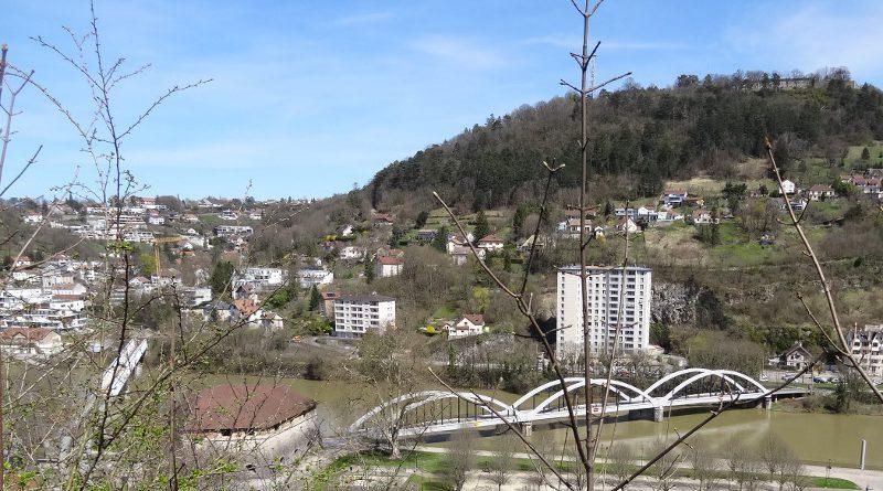 Bregille et le Doubs en 2013