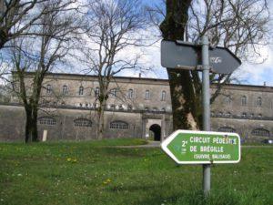 Entrée du fort de Bregille