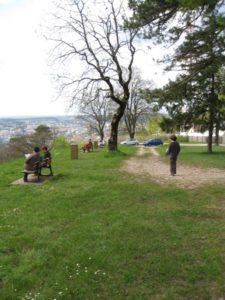 Bregille devant le fort