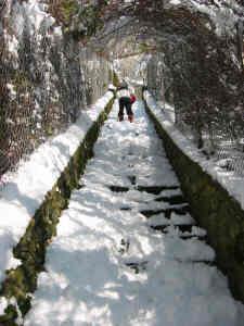 Neige à Beauregard en 2006