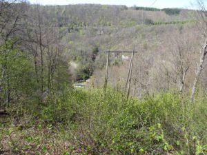Bonnevaux ancienne voie ferrée et Plaisir Fontaine