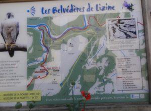 circuit des belvédères de Lizine