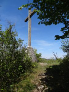 Lizine : la croix du Châtelet