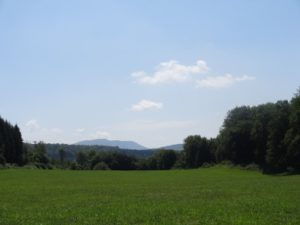 Mont Poupet depuis Lizine