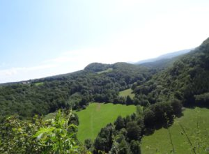 Vallée du Lison et Châtelet du belvédère