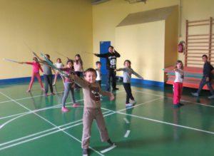 enfants à l'épée à Montrapon