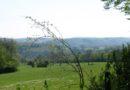 La ferme de Buillon par les Granges et une rive de la Loue