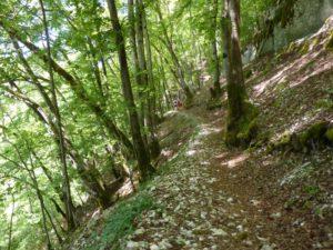 sentier des gorges de Nouailles