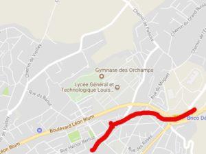 plan des Orchamps