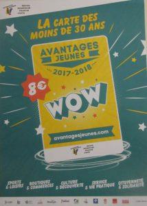 Carte Avantages Jeunes 17-18