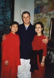 Bernard Lamy entre Mme Liu et traductrice