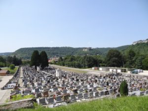 Ornans cimetière en 2013