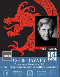 Cyrille Javary à Forum