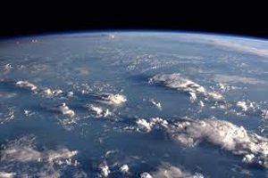 nuages vus de l'espace
