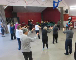 Stage Qi Gong avec Martine