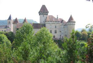 Château de Cléron en 87