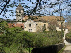 église de Scey en avril 2008