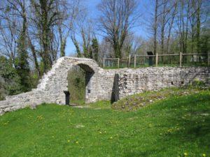 Entrée du Castel Saint Denis à Scey