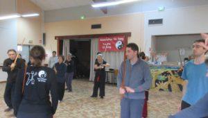 épée du Tai Ji stage avec Thierry Baë nov 18