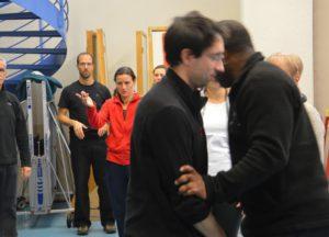 Tai Ji martial avec Rodolphe