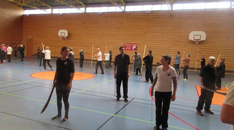 stage par ateliers sabre, bâton Qi Gong