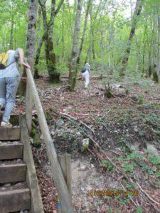 Saut Chevalier 4 escalier