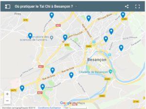 Où pratiquer le Tai Chi plan des salles de Besançon