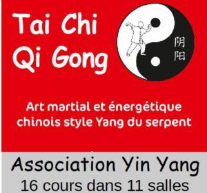 tai chi Qi Gong avec l'association Yin yang