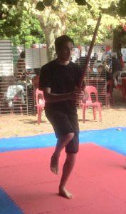 Tai Ji Jian épée pointée